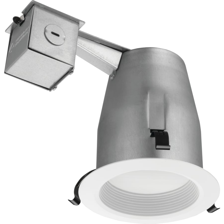 Lithonia Lighting Recessed Cans: Lithonia Lighting LK4BMW White Integrated LED Remodel