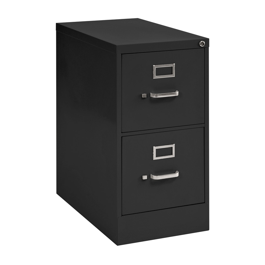 Exceptionnel Edsal Sandusky Vertical Files Black 2 Drawer File Cabinet