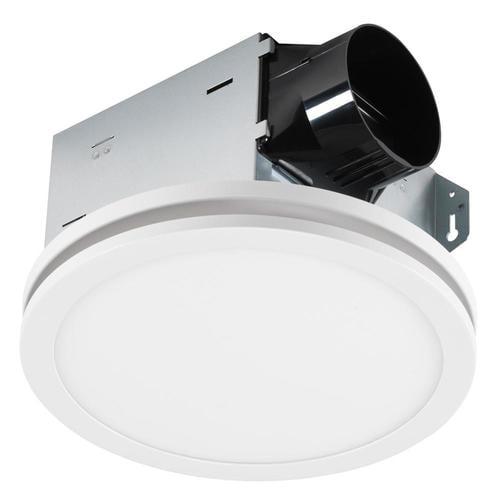 Utilitech Ventilation Fan 1.5-Sone 100-CFM White Bathroom ...