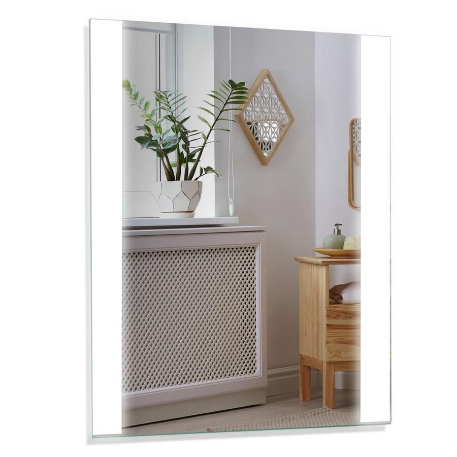 Home2o Led Lit Mirror Rectangular Frameless Lighted Led