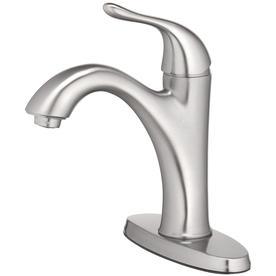 Home2O 1 Handle Bathroom Sink Faucet
