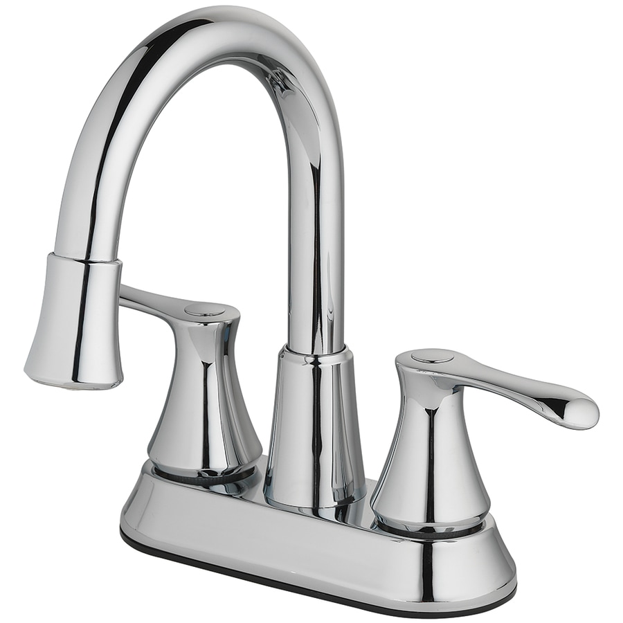 Marvelous Homewerks Worldwide LED Aerator Chrome 2 Handle 4 In Centerset Bathroom  Faucet