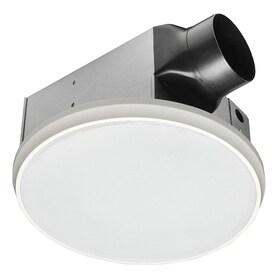 Shop broan 2 5 sone 80 cfm white bathroom fan at lowes com - Shop Bathroom Fans Amp Heaters At Lowes Com