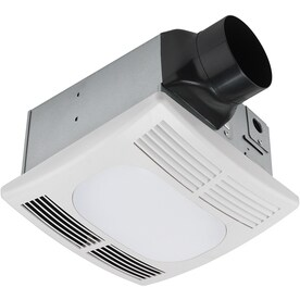 Shop bathroom exhaust fans parts at lowes utilitech 15 sone 90 cfm white bathroom fan aloadofball Image collections