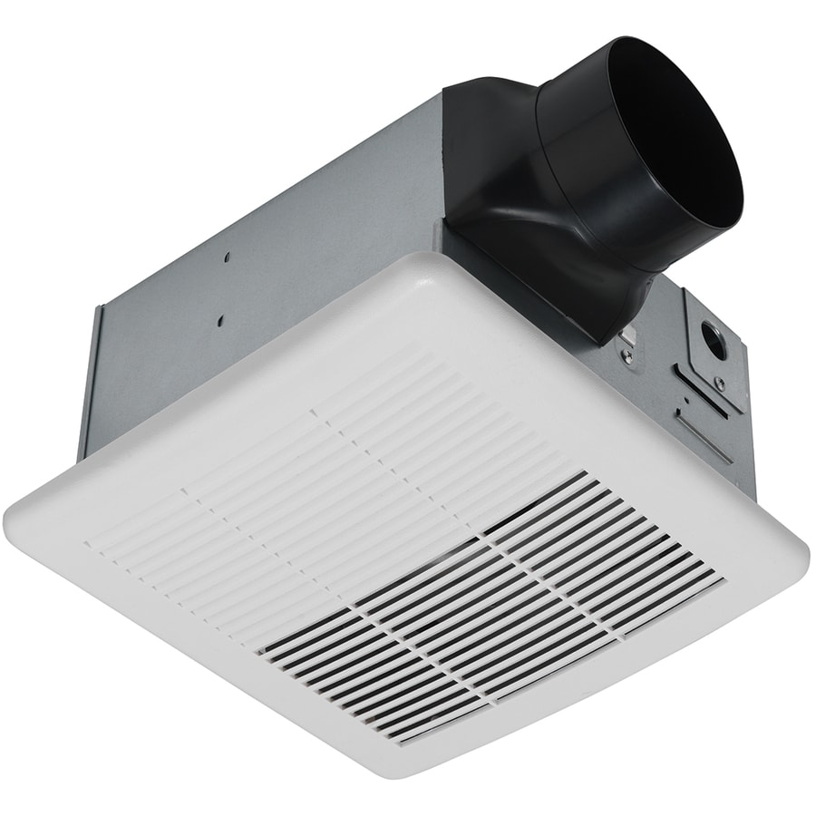 Utilitech 1.5-Sone 90-CFM White Bathroom Fan