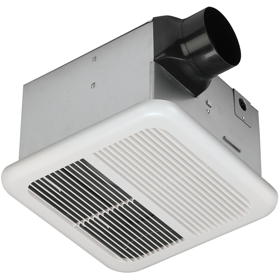 shop utilitech 1 2 sone 110 cfm white bathroom fan at