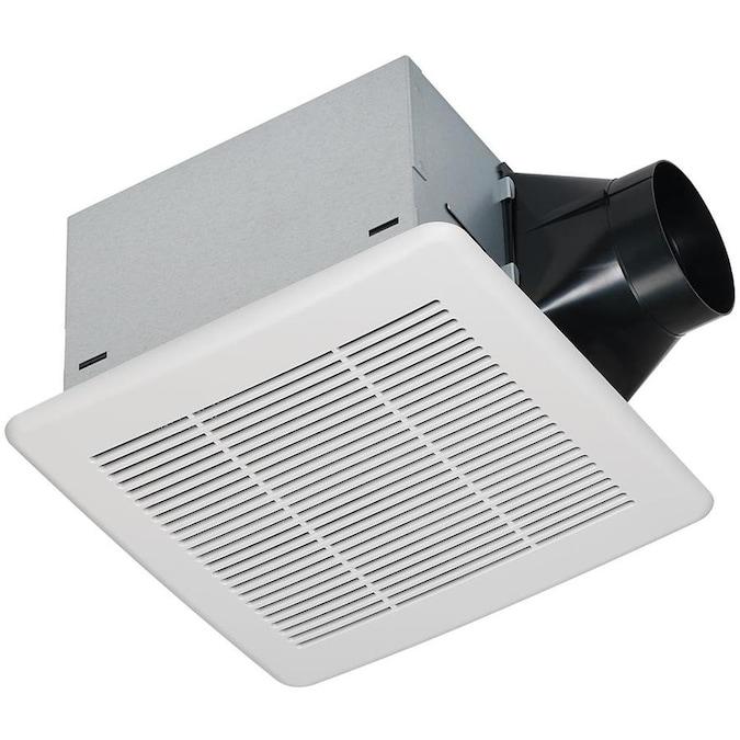 Utilitech 0.3-Sone 80-CFM White Bathroom Fan ENERGY STAR ...