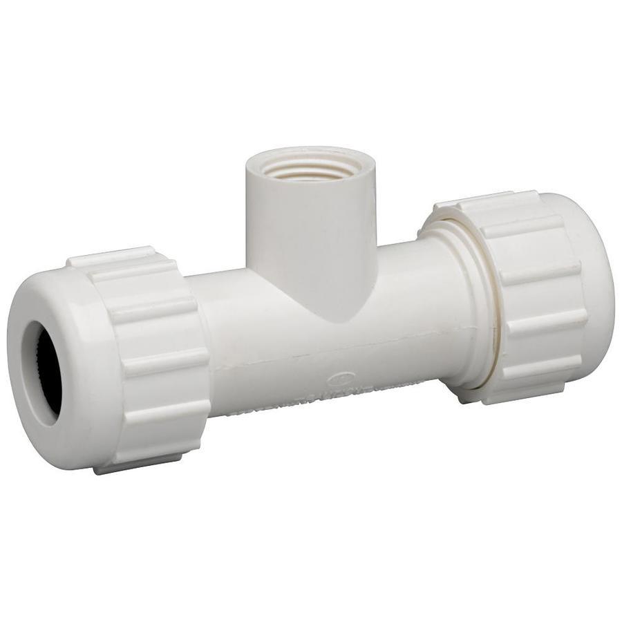 Homewerks Worldwide 1/2-in dia PVC Sch 40 Tee