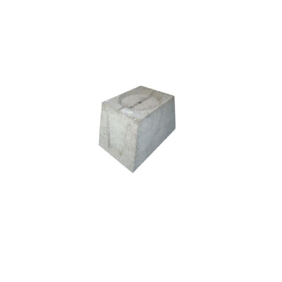 Concrete Deck Block (Common: 9-in x 10-in x 14-in; Actual: 9-in x 10-in x 14-in)