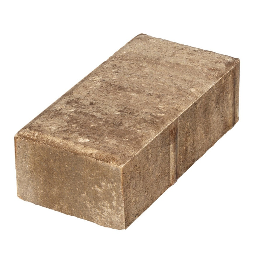 Keystone Holland Light Brown Blend Paver (Common: 4-in x 8-in; Actual: 3.78-in x 7.75-in)