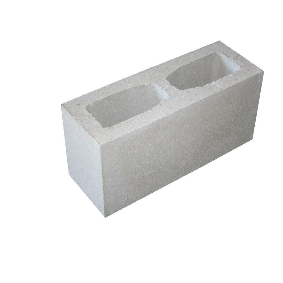 Headwaters Construction Materials Concrete Fence Block (Common: 8-in x 6-in x 16-in; Actual: 7.625-in x 5.625-in x 15.625-in)