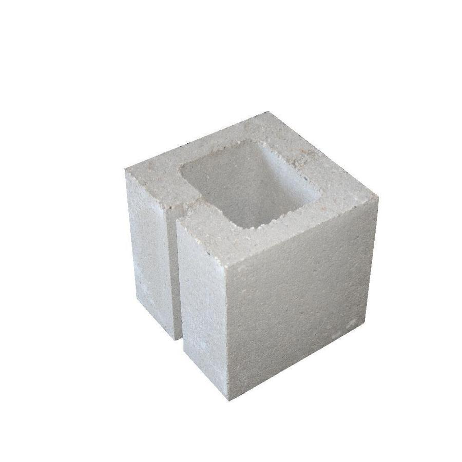 Headwaters Construction Materials Standard Cored Concrete Block (Common: 8-in x 8-in x 8-in; Actual: 7.625-in x 7.625-in x 7.625-in)