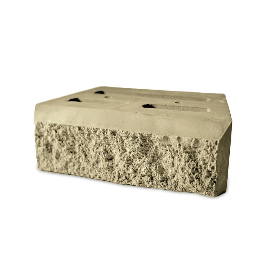 Limestone Retaining Wall Block (Common: 9-in x 12-in; Actual: 9-in x 12-in)