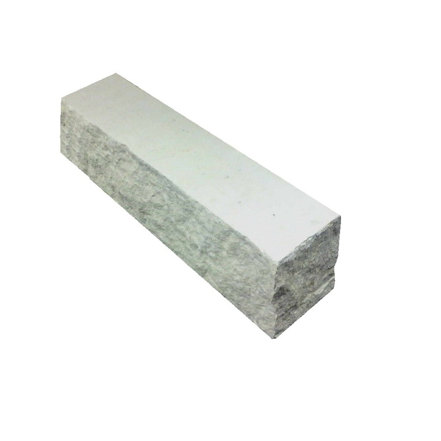 Limestone Straight Edging Stone (Common 14-in x 4-in; Actual: 14-in x 4-in)