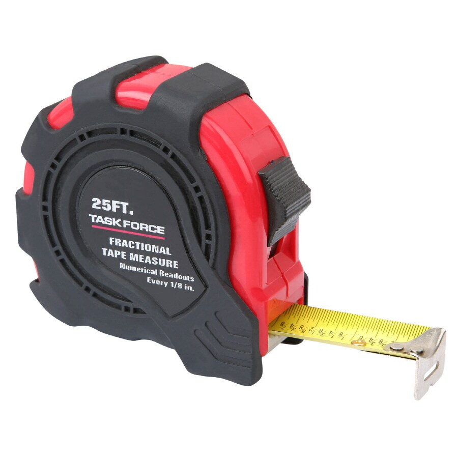 Task Force 25-ft SAE Tape Measure