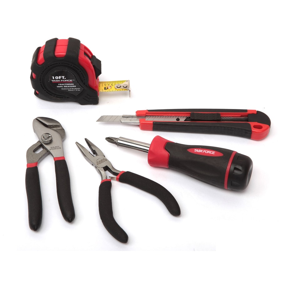 Task Force 5-Piece Household Tool Set