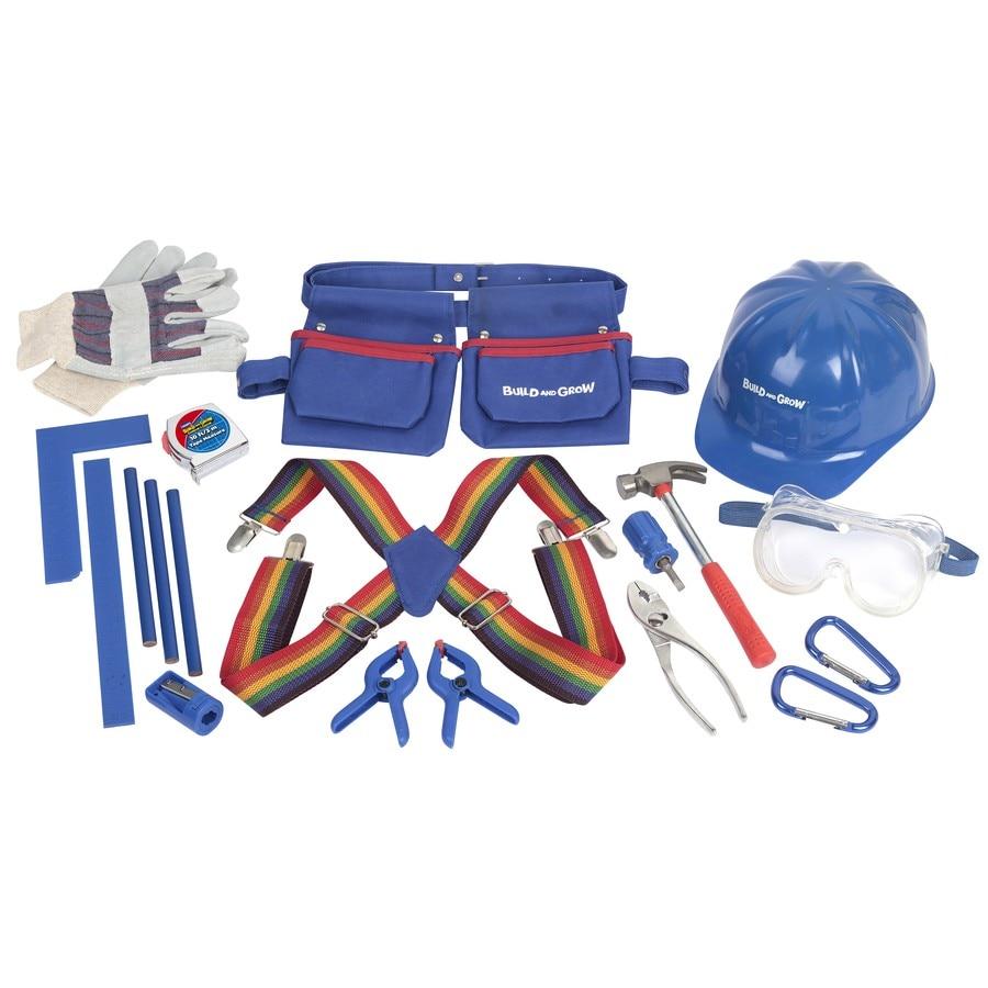 Build and Grow 20-Piece Kids Tool Kit