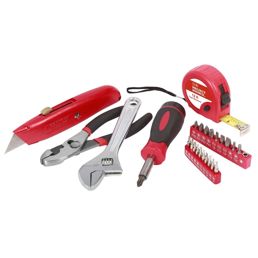 Project Source 31-Piece Household Tool Set