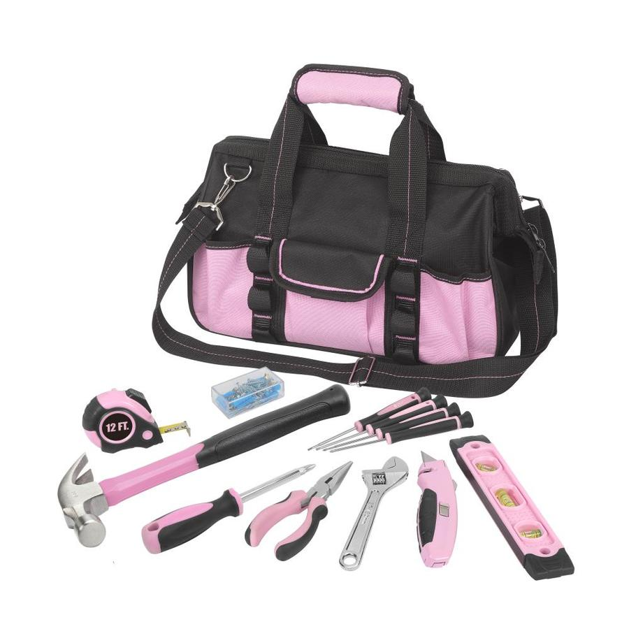 Household Tool Set with Soft Case