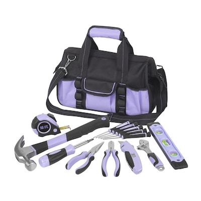 13 Piece Household Tool Set With Soft Case At Lowes