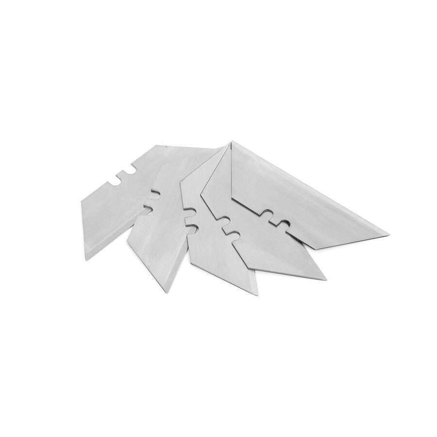 Kobalt 5-Pack 2.396-in Carbon Steel Straight Drywall Replacement Utility Blades