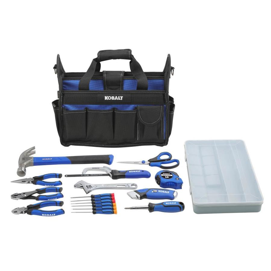 Kobalt 22 Piece Household Tool Set With Soft Case