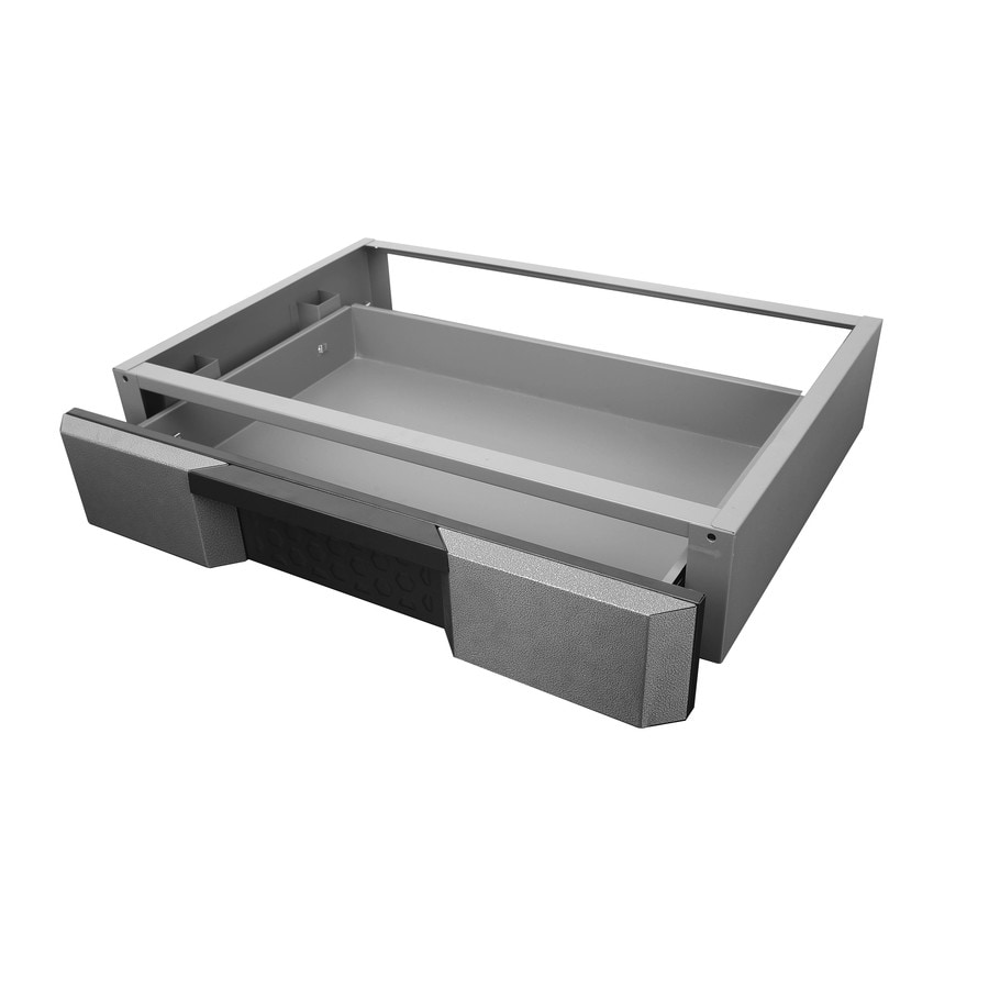 Shop Kobalt 295 In X 575 In Gray Metal Drawer At Lowes