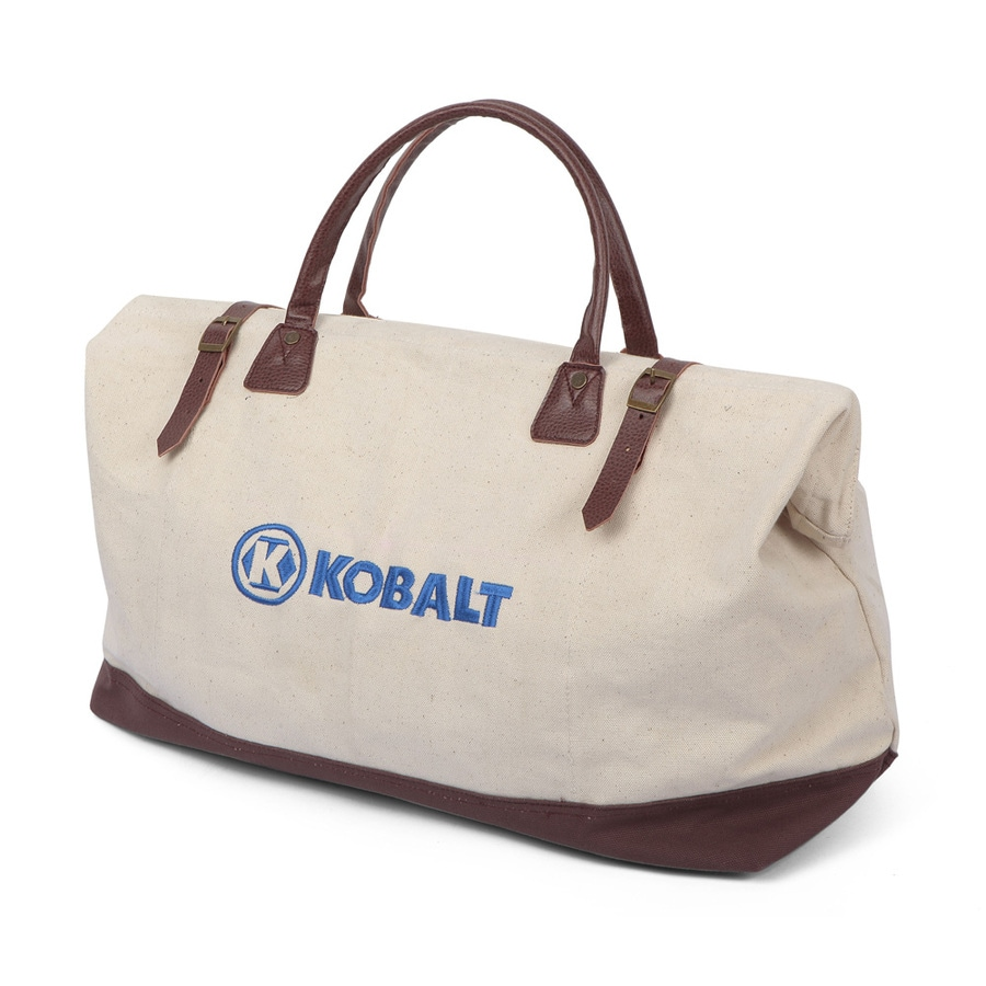 Kobalt Cotton Zippered Closed Tool Bag