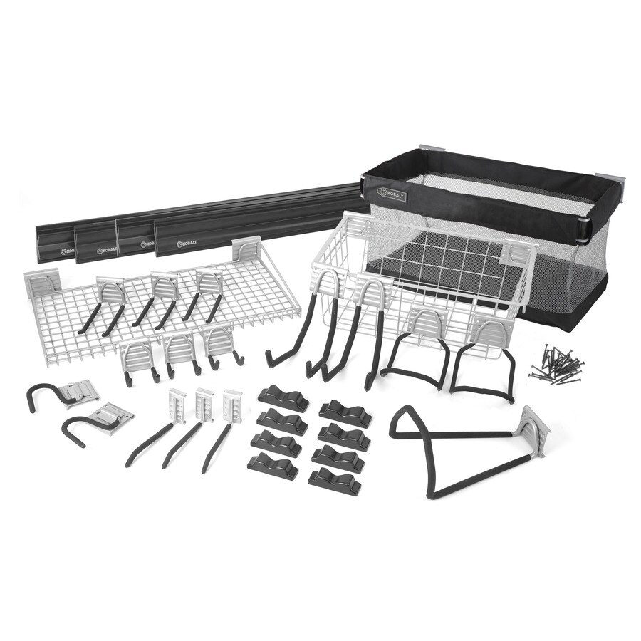 Shop Kobalt K Rail 32 Piece Storage Rail System At Lowes Com