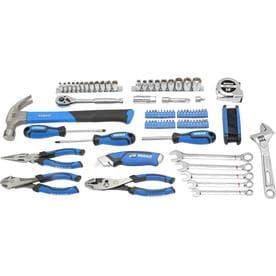 Kobalt 89-Piece Standard (SAE) Polished Chrome Mechanics Tool Set