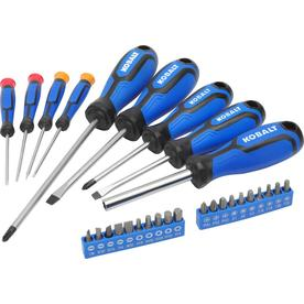 Kobalt 29-Piece Magnetic Set Multi-Bit Screwdriver Set