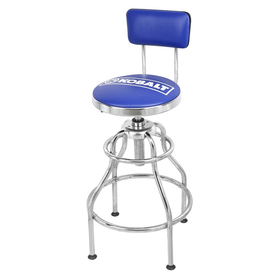 Shop Kobalt Adjustable Hydraulic Stool At Lowes Com