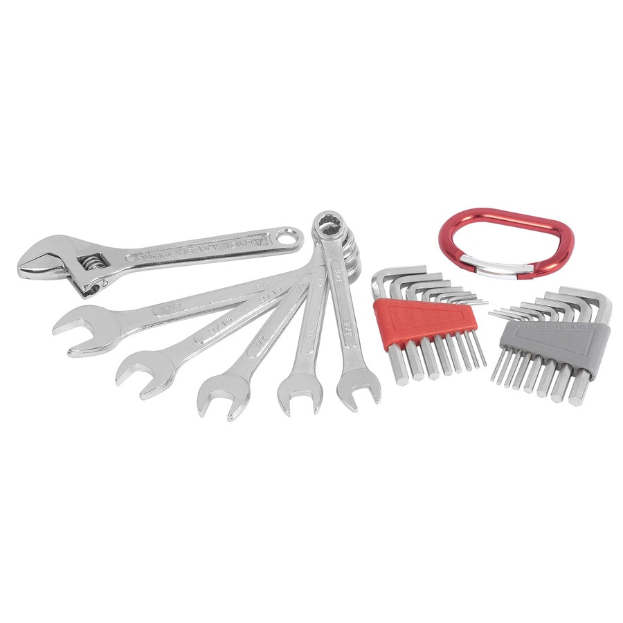 Project Source 23-Piece Standard (SAE) and Metric Combination Mechanic's Tool Set