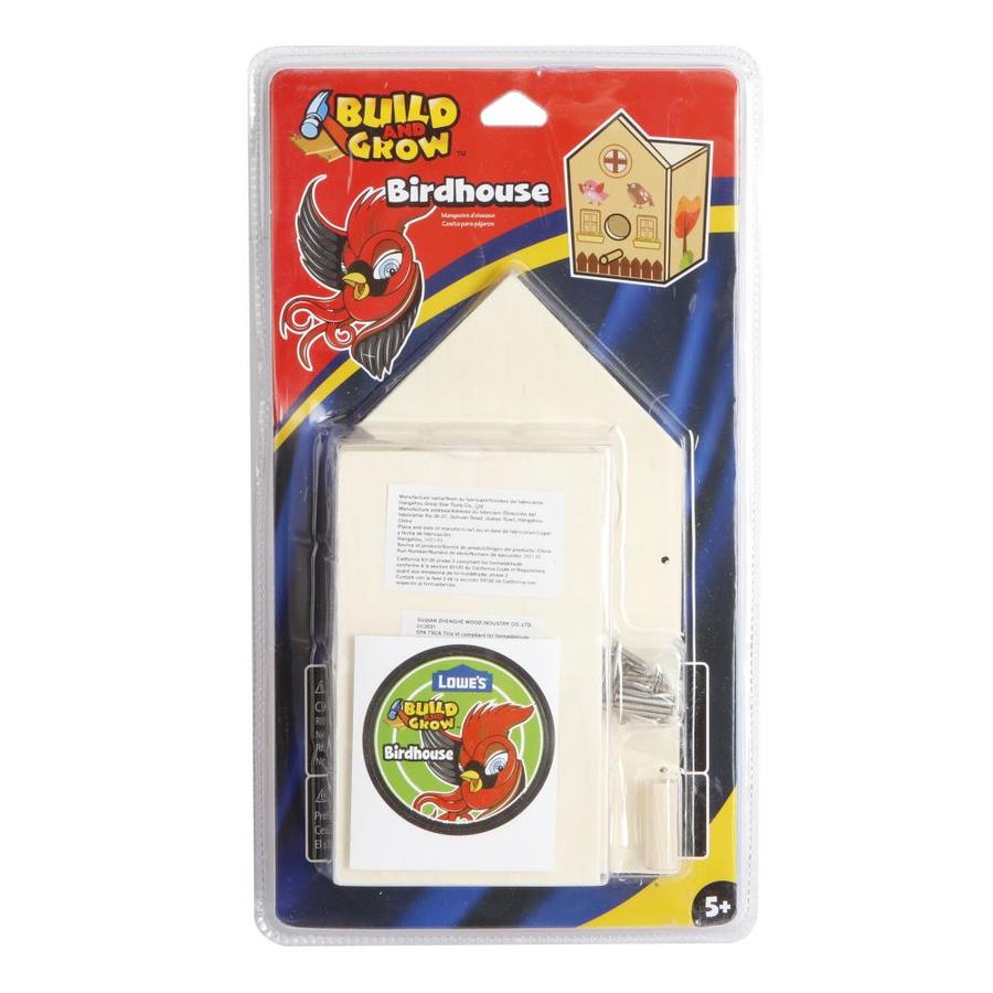 Build And Grow Kid S Bird House Kit