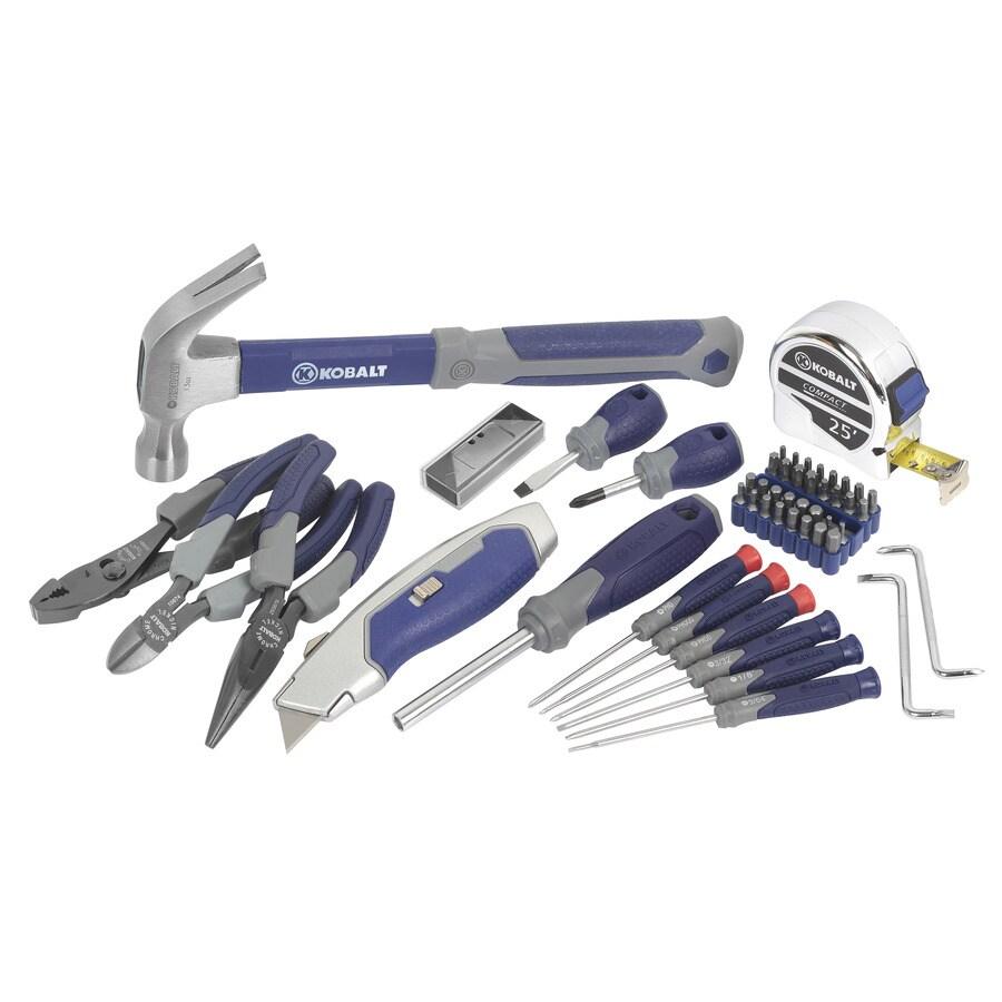 Kobalt 60-Piece Household Tool Set