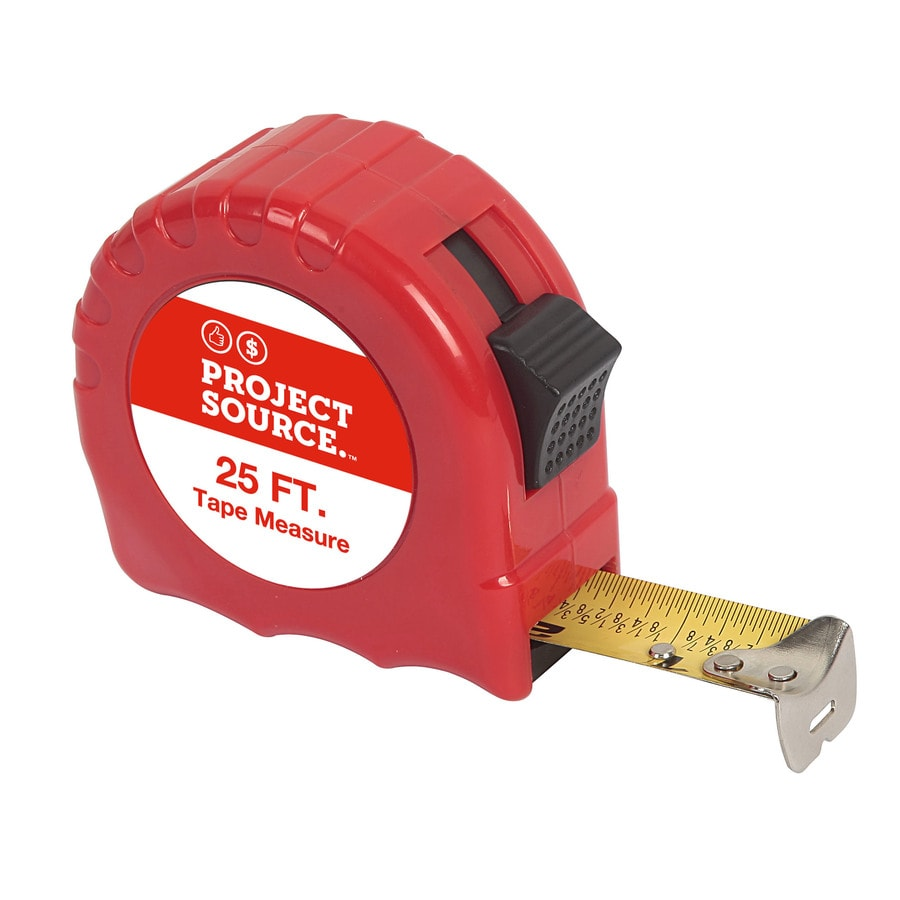 Project Source 25-ft Tape Measure