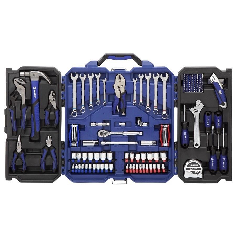 Kobalt Household Tool Set with Hard Case