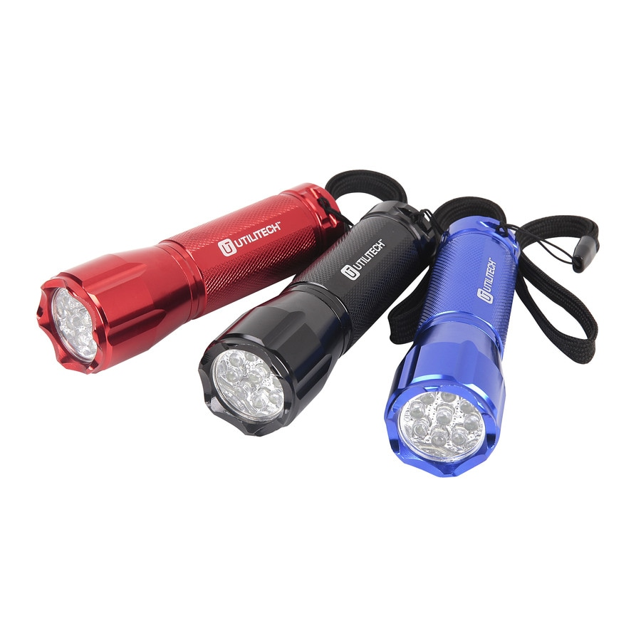 Utilitech 50-Lumen LED Handheld Battery Flashlight (Battery Included)