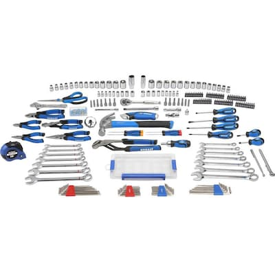 Kobalt 204-Piece Household Tool Set with Hard Case at Lowes com