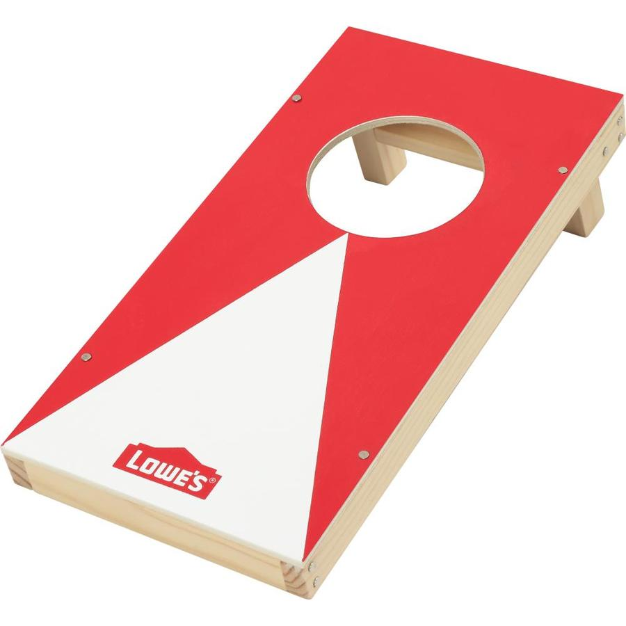 Build and Grow Red Corn Hole Set