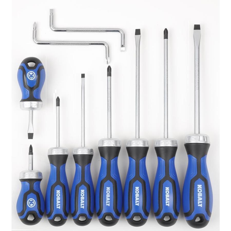 Kobalt 10-Piece Variety Pack Screwdriver Set