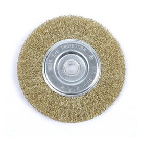 Fine Bench Wire Wheel 6 In