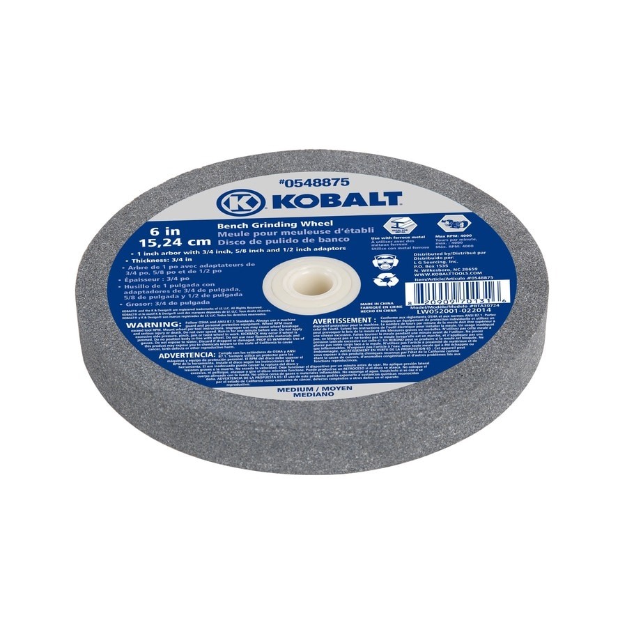 Kobalt Bench Grinding Wheel