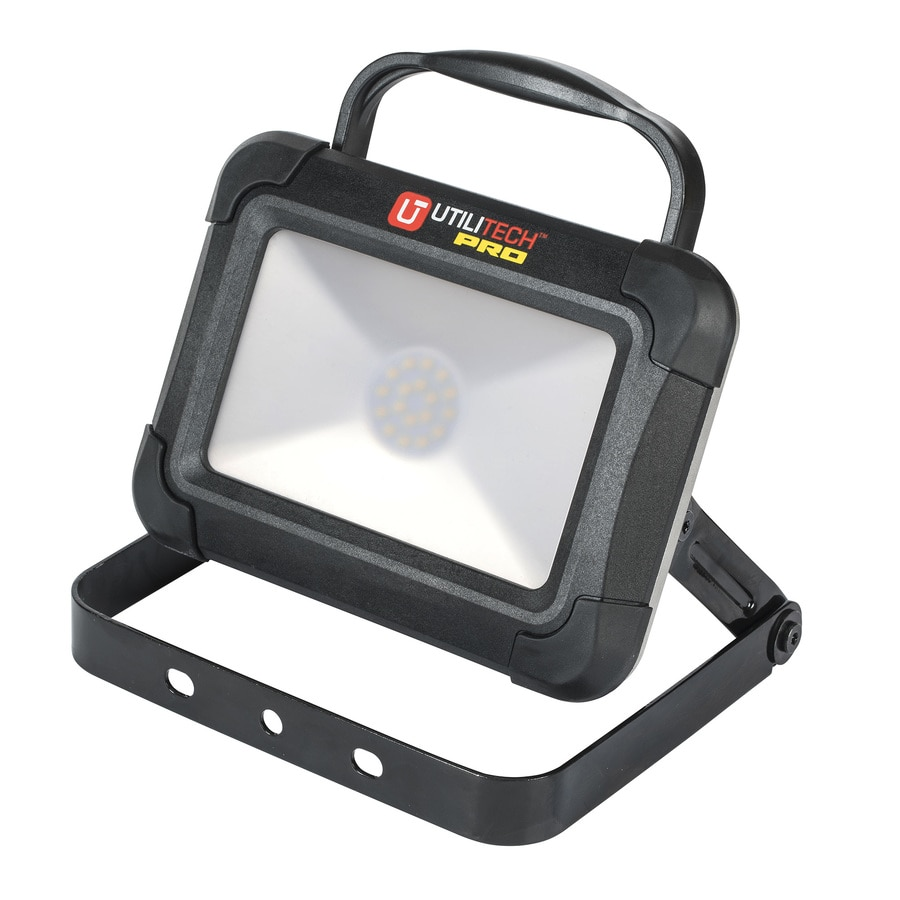 utilitech pro led shop utilitech led rechargeable portable work light at 12876