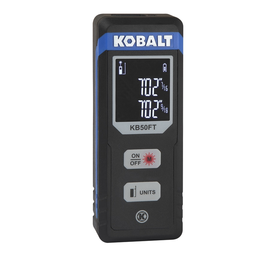 Shop measuring tools at lowes kobalt 50 ft indoor laser distance measurer greentooth Images