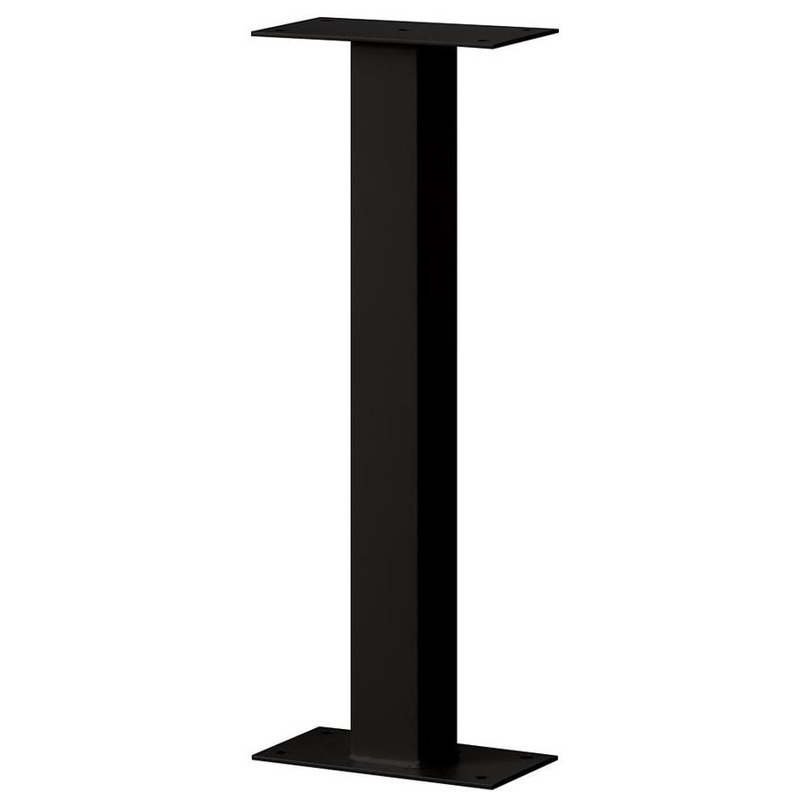 SALSBURY INDUSTRIES Standard Pedestal Black Mailbox Post