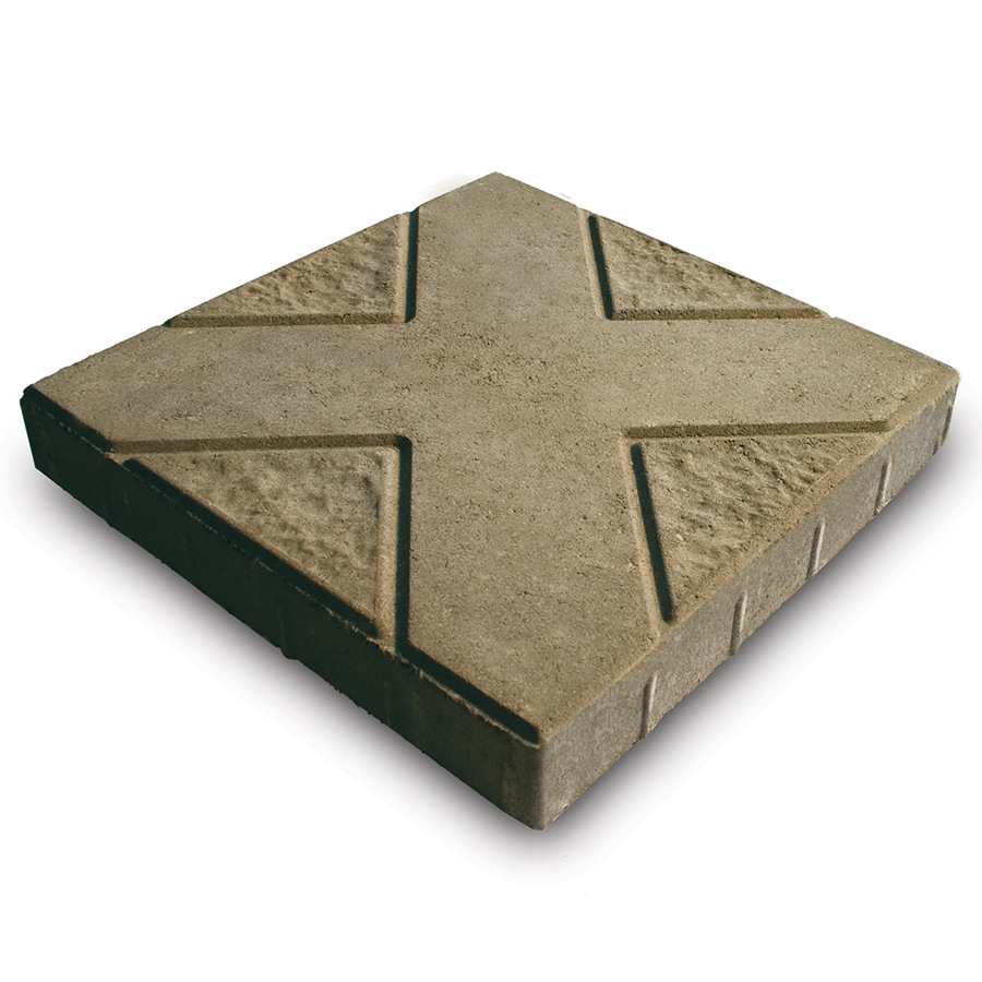 Tan Patio Stone (Common: 16-in x 16-in; Actual: 16-in x 16-in)
