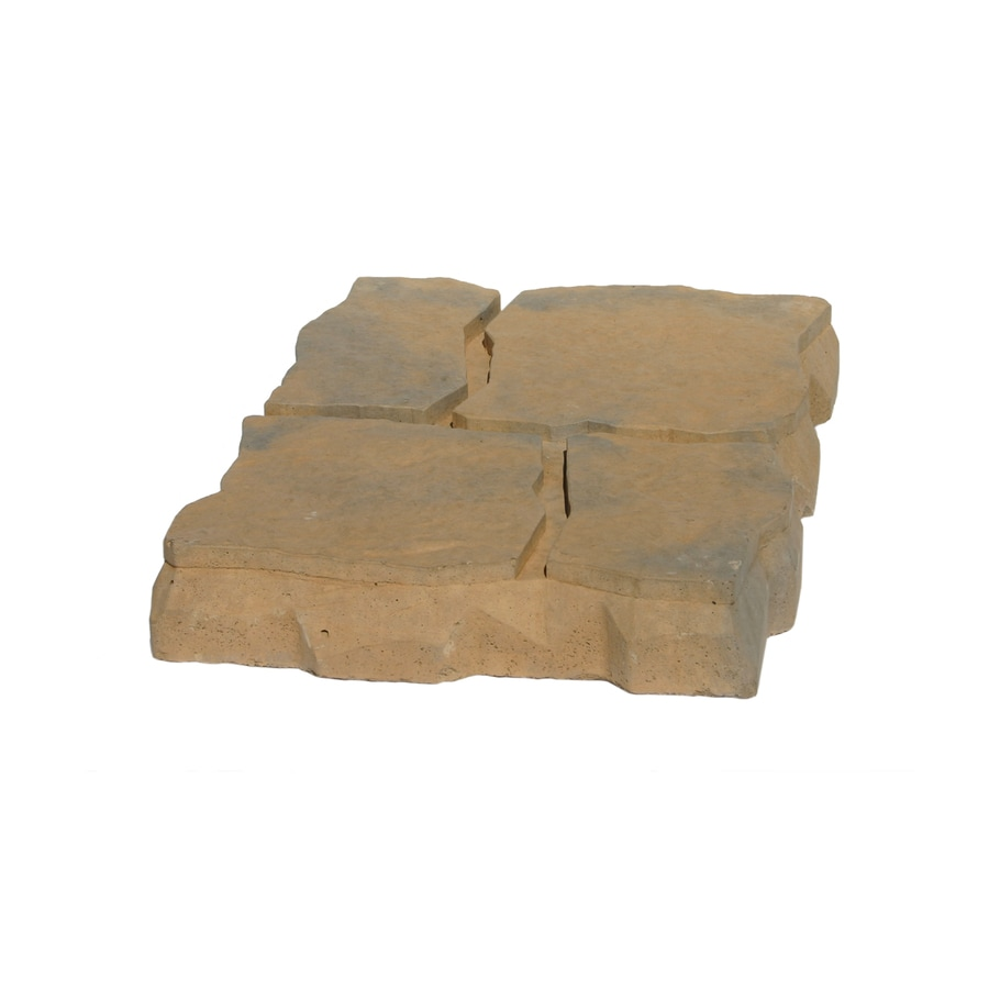 Chaparral Interlocking Sections Patio Stone (Common: 17-in x 11-in; Actual: 17.4-in x 11.7-in)