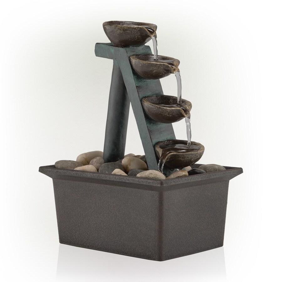 Gentil Alpine Corporation 8 In Resin Tabletop Fountain