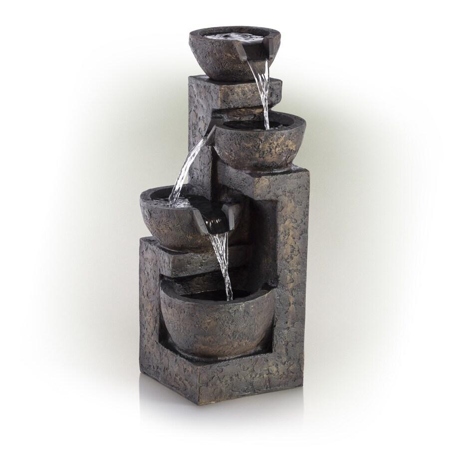 Ordinaire Alpine Corporation 24 In Resin Tabletop Fountain